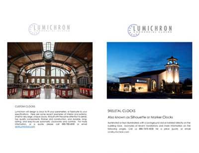 LUMICHRON clock catalogs