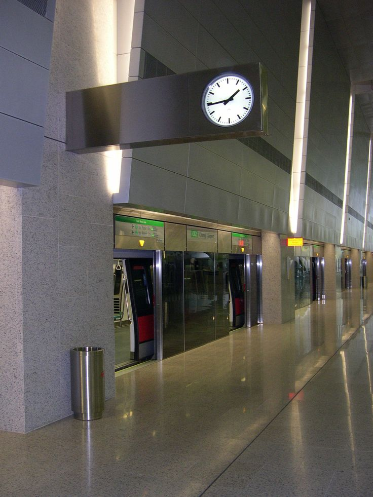 Double-faced bracket Terminal Station illuminated automatic