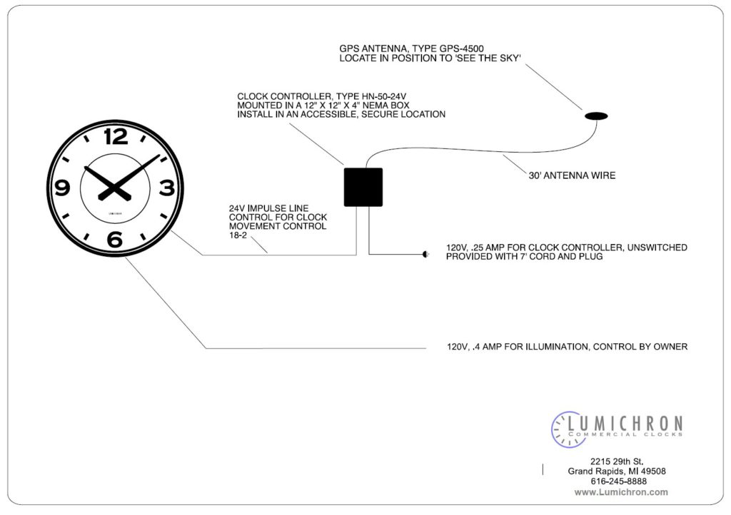 Astonishing Drawings Lumichron Clock Company Wiring 101 Capemaxxcnl